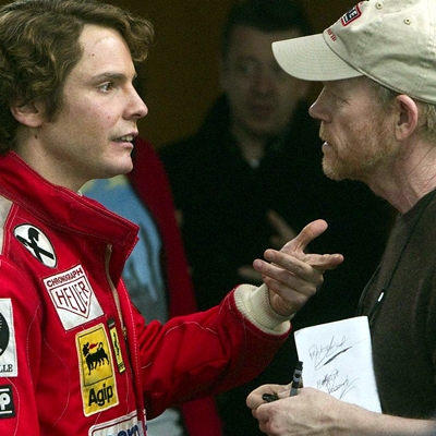 Daniel Brülh et Ron Howard