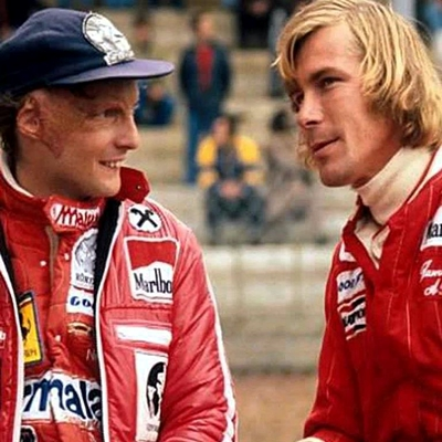Niki Lauda et James Hunt