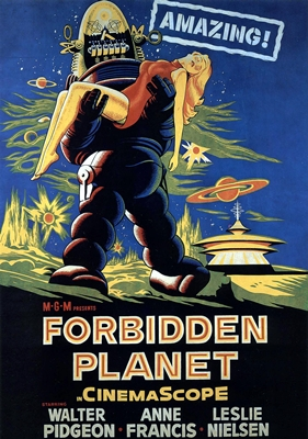 PLANETE INTERDITE – FORBIDDENPLANET