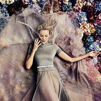 NAOMI WATTS in Vogue Magazine