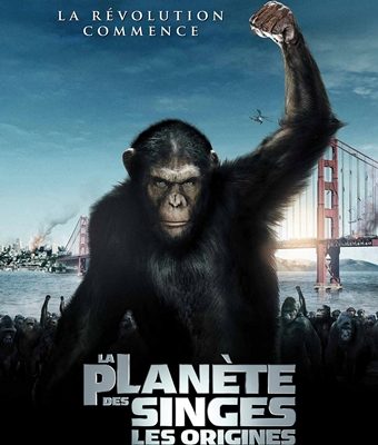 LA PLANETE DES SINGES: LES ORIGINES – RISE OF THE PLANET OF THE APES