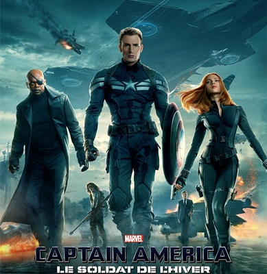 CAPTAIN AMERICA: LE SOLDAT DE L'HIVER-CAPTAIN AMERICA: THE WINTER SOLDIER