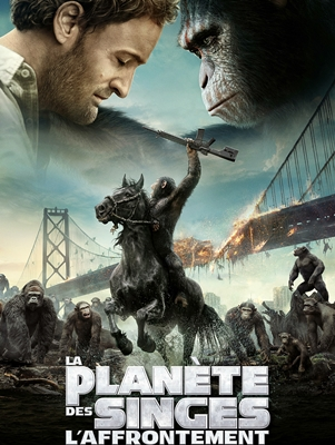 LA PLANETE DES SINGES: L'AFFRONTEMENT- DAWN OF THE PLANET OF THE APES