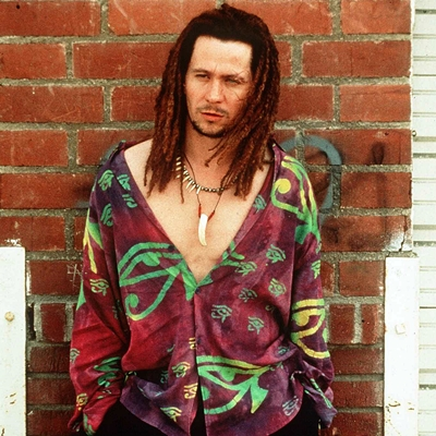 Gary Oldman Who Plays A Pimp In A Warner Bros Film Called True Romance Co Starrs With Christiam Sl