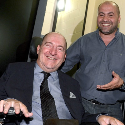 Philippe Pozzo di Borgo et Abdel Yasmin Sellou