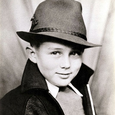 Photograph Of A Young James Dean