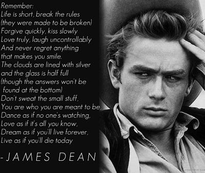 JAMES DEAN –RIP