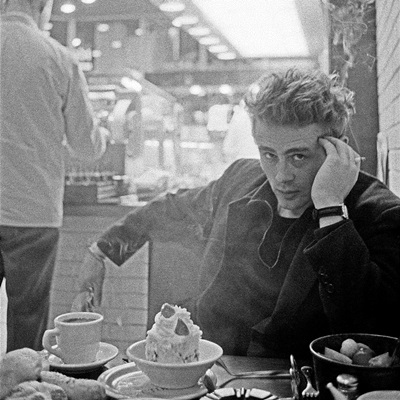 USA. New York City. 1955. James DEAN.