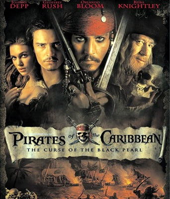 PIRATES DES CARAIBES: LA MALEDICTION DU BLACK PEARL-PIRATES OF THE CARIBBEAN:THE CURSE OF THE BLACK PEARL