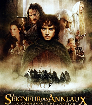 LE SEIGNEUR DES ANNEAUX:LACOMMUNAUTE DE L'ANNEAU-THE LORD OF THE RING:THE FELLOWSHIP OF THE RING