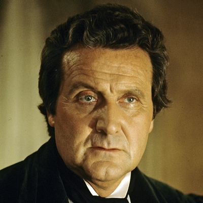"UNITED STATES - MARCH 29: ABC MOVIE FOR TV - ""Dead of Night: No Such Thing as a Vampire"" - 3/29/77, Patrick Macnee (Dr. Gheria) starred in this tale about vampires.,"