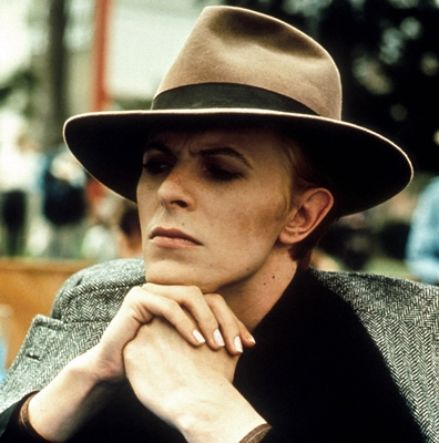 David Bowie in Nicolas Roeg's THE MAN WHO FELL TO EARTH (1976).