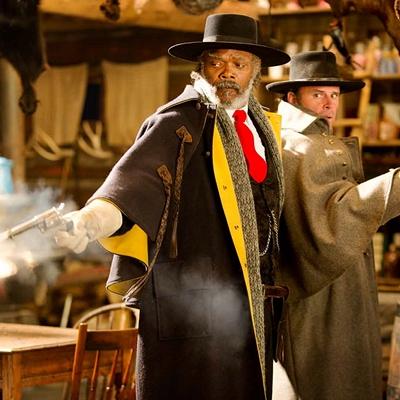 SAMUEL L. JACKSON and WALTON GOGGINS star in THE HATEFUL EIGHT