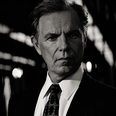 THE PEOPLE v. O.J. SIMPSON: AMERICAN CRIME STORY -- Pictured: Bruce Greenwood as Gil Garcetti.