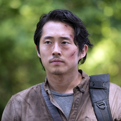 Steven Yeun as Glenn Rhee - The Walking Dead _ Season 6,