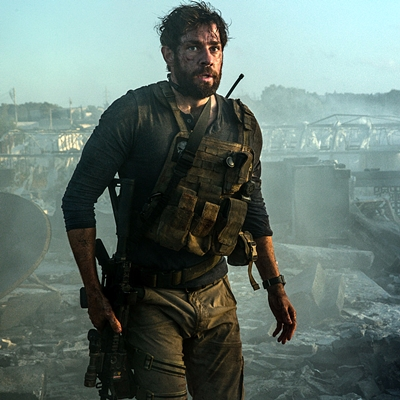 John Krasinski plays Jack Silva in 13 Hours: The Secret Soldiers of Benghazi