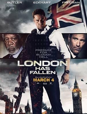LA CHUTE DE LONDRES-LONDON HAS FALLEN