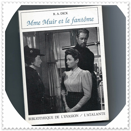 LIVRE: MME MUIR ET LE FANTÔME – BOOK: THE GHOST AND MRS MUIR