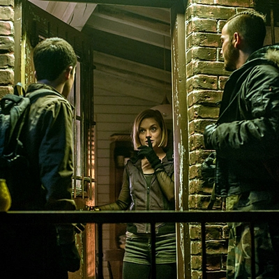 Dylan Minnette, Jane Levy and Daniel Zovatto star in Screen Gems' horror-thriller DON'T BREATHE.